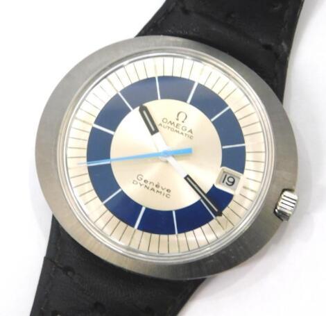 A gentlemans Omega Automatic Dynamic wristwatch