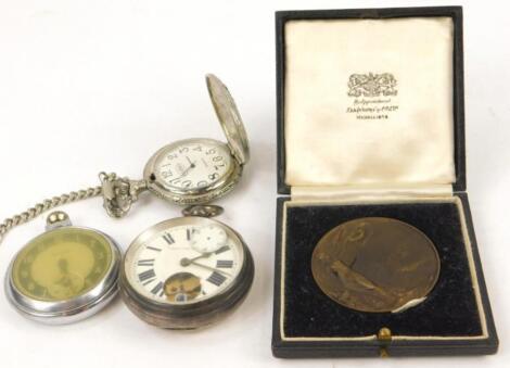 Three various pocket watches