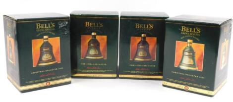 Four Bells Whisky decanters