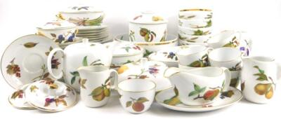 A quantity of Royal Worcester Evesham pattern dinner ware