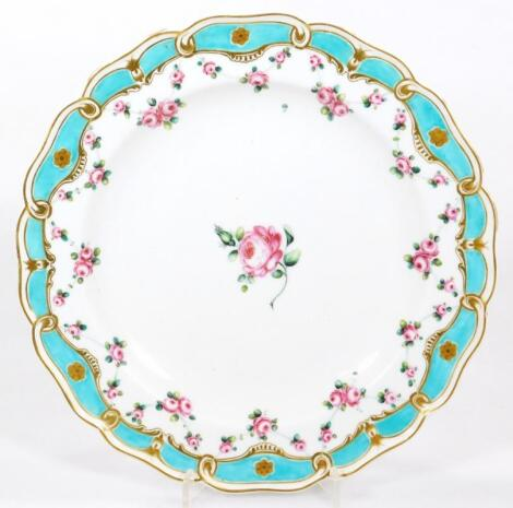 A Chelsea Derby moulded plate