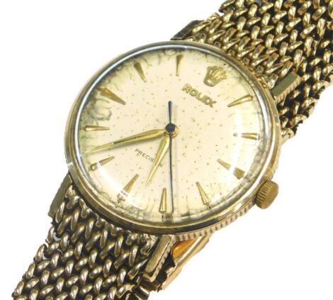 A Rolex Precision gentleman's wristwatch