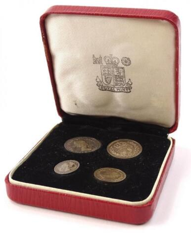A Maundy four coin set for 1959