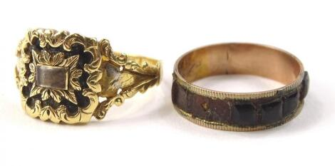 Two dress rings
