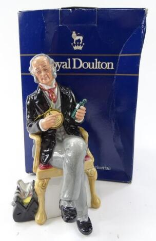 A Royal Doulton figure The Doctor HN2858