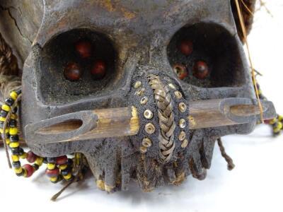 A West African type voodoo skull - 2
