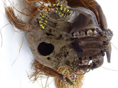 A West African type voodoo skull - 4