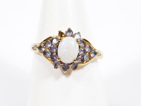A ladies dress ring