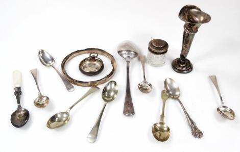 Various Georgian and other silver