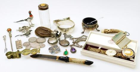 Various silver and effects