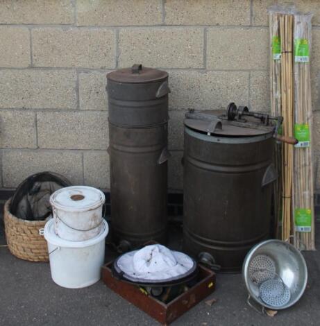 Various bee keeping equipment