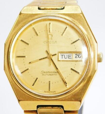 An Omega Seamaster automatic gentleman's wristwatch