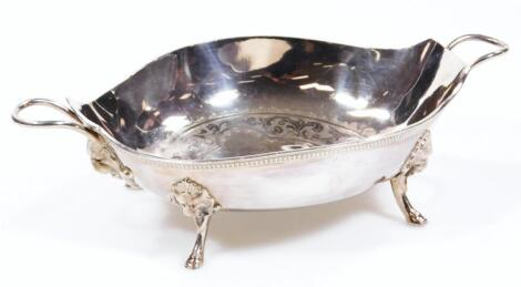 An American Arts & Crafts shaped bowl