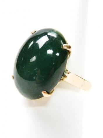 A jade dress ring