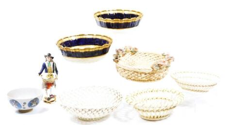 Various 19thC and later porcelain and pottery