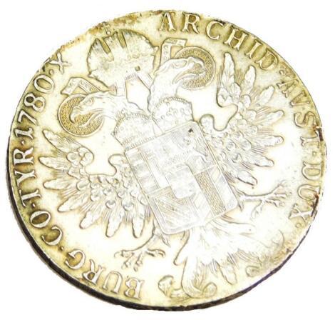A M Theresa bullion coin