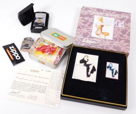 A Premium Collectable limited edition Zippo lighter