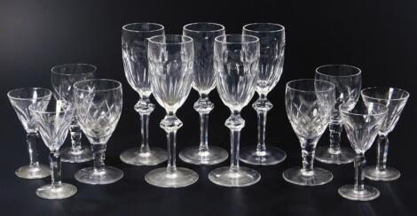 Various Waterford drinking glasses