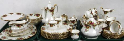 A Royal Albert Old Country Roses part service