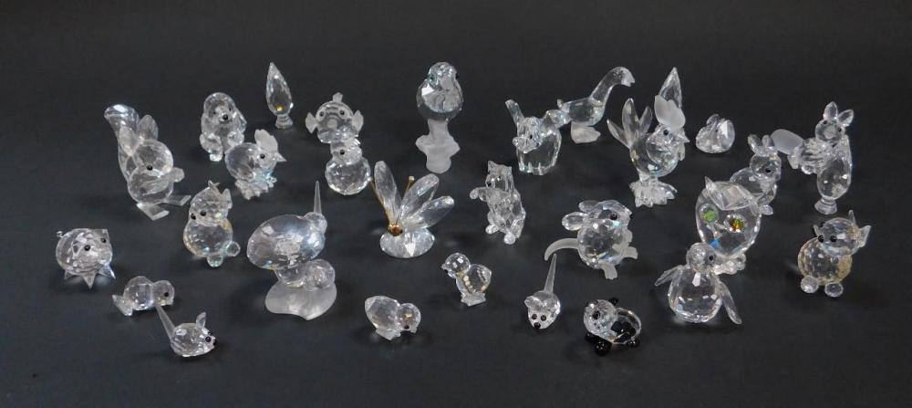 6ebc00942 A group of Swarovski Crystal figures - Price Estimate: £0 - £0 ...