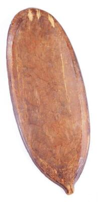 A ceremonial shaped wooden shield - 2