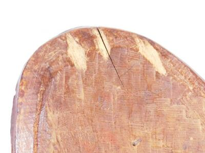 A ceremonial shaped wooden shield - 3