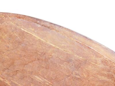 A ceremonial shaped wooden shield - 4