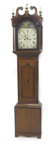 A 19thC longcase clock by James Chapman of Lincoln