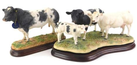 Two Border Fine Arts limited edition figures