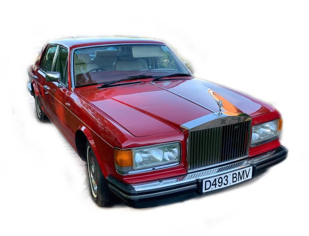 A 1986 Rolls Royce Silver Spirit, D493 BMV, twin carb, five door saloon...