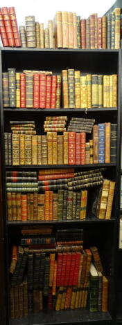 Bindings. - a quantity of French bindings, some sets, many individual, full leather, half-leather, 8vo and small 4to. (qty)