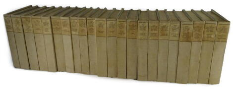 Kipling (Rudyard) WORKS, The Bombay Edition, lacks vol, 3, 20 and 25, vol 1 signed by the author, half-titles, uncut, t.e.g., publisher's cloth-backed boards, 4to, 1913.