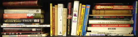 Satire and comedy.- a shelf of mixed volumes, v.s, v.d. (qty)
