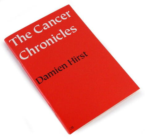 Hirst (Damien) THE CANCER CHRONICLES, signed by the author, 2003.