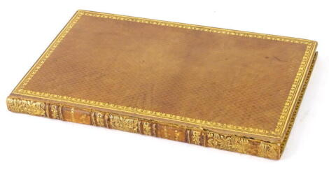 Bloomfield (Robert) THE FARMER'S BOY; A RURAL POEM, [more information - title page, date and binding, spine gilt...].