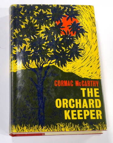 The Orchard Keeper Cormac McCarthy. Andre Deutsch. London, 1966. First UK edition first printing.