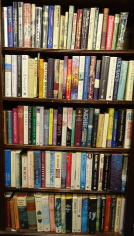 Modern First editions.- a large quantity of modern first editions, publisher's cloth and boards, dust-jackets, 8vo. (qty)