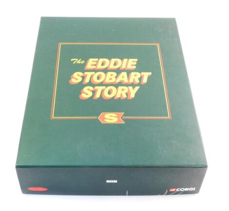 A Corgi limited edition die cast set The Eddie Stobart Story, CC86610, boxed.