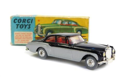 A Corgi die cast model of a Bentley Continental Sports Saloon, by H J Mulliner, No 224, boxed.