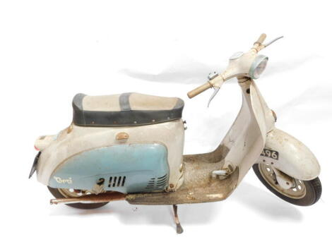 A 1961 Agrati-Garelli 80cc Capri scooter, Registration TTL 496, frame no 7 02759, engine no 1294, 2892 recorded mileage, with original R.F. 60 registration book, no V5 present. (AF) To be sold upon the instructions of the Executors of Kathleen Wright (Dec
