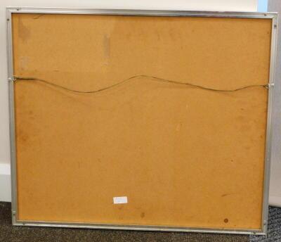 Stanley Bennett. Snowy mountainscape, oil, signed, 38.5cm x 48cm. - 4