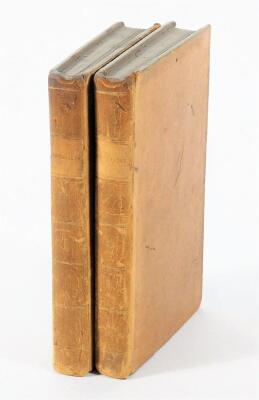 [Graves] EUPHROSYNE: OR AMUSEMENTS ON THE ROAD OF LIFE... 2 vol., half-titles, engraved frontispieces, contemporary calf, 8vo, J. Dodsley, 1783.