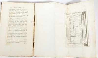 Hooper (W.) RATIONAL RECREATIONS IN WHICH THE PRINCIPLES OF NUMBERS AND NATURAL PHILOSOPHY ARE CLEARLY...ELUCIDATED second edition, 3 vol., engraved plates, many folding, contemporary calf-backed boards, spines worn, 8vo, L. Davis & J. Robson, 1783. - 9