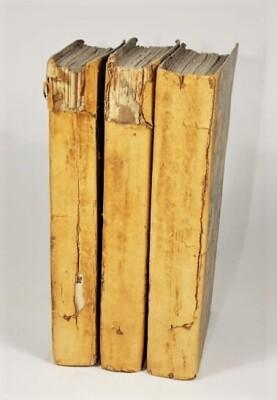 [Beazley] THE ROUÉ 3 vol., contemporary half calf, spines worn, 8vo, 1828.