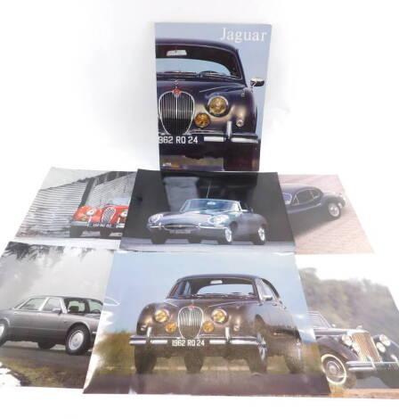 A PML Editions Jaguar Classic Cars photographs portfolio, produced by Claude Chou, for Profrance, Maxi-Livres.