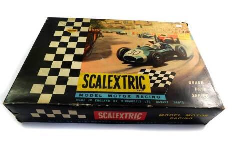 A Tri-ang Scalextric Model Motor Racing Set, GP33, boxed.