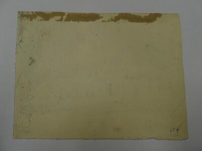 Thomas Sidney Cooper RA (1803-1902). Lesson for D W Coit. Cottage in landscape. Pencil sketch, 14.5cm x 19cm. Provenance: Goodacre Collection No 325. - 3