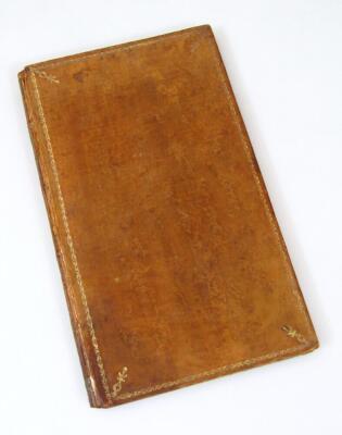Polignac (Diane de) Memoires sur la vie et le character de… chromolithographed frontispiece, tissue guard, contemporary calf, spine gilt, 8 volumes, 1796. - 4