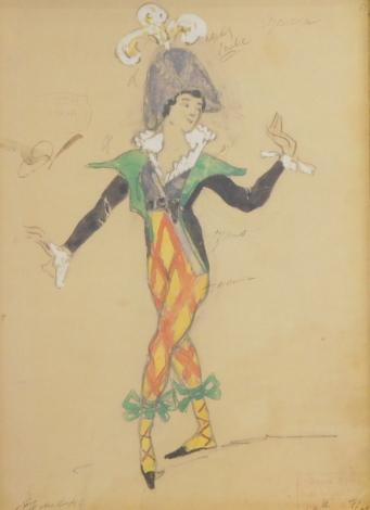 After Zarubin and Ward. The original designs of the Bolshoi Nutcracker 1919 Compton & Woodhouse, prints set limited edition no. 1681/5000, 23cm x 19cm (12).
