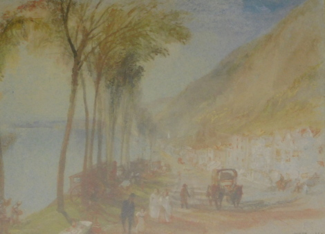 After Turner. Turner collection at The Tate Gallery, Wandering by the Seine and other prints, limited edition no. 2771/5000, 14cm x 22cm (6).